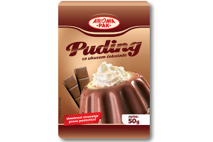 Puding sa ukusom čokolade 40g, puding za kolače, puding za torte, poslastice