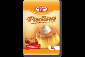 Puding sa ukusom karamele 40g, puding za kolače, puding za torte, poslastice